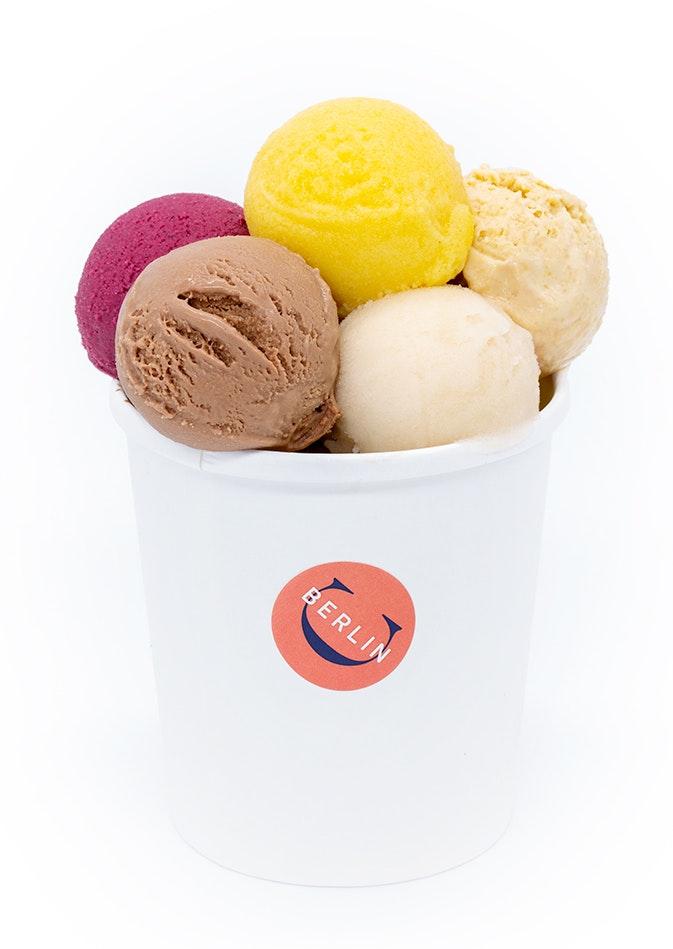 Candide Schokoladen - Favoriten Eiscreme